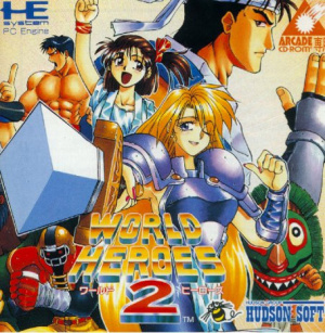 World Heroes 2 sur PC ENG