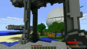 Minecraft - La carte Star Wars