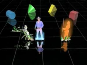 Jaquette de Hologram Time Traveler : De l'arcade au salon