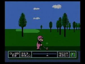Jaquette de NES Open Tournament Golf : Dans le mille