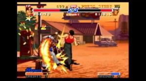 Jaquette de Real Bout Fatal Fury 2 : The Newcomers : Sortie sur console virtuelle Wii