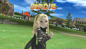 Everybody's Golf s'offre Kat (Gravity Rush)