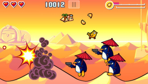 The Flying Hamster revient en HD sur Vita