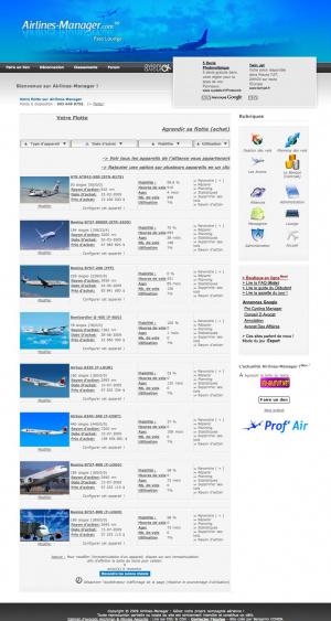 Gérez une compagnie aérienne avec Airlines-Manager