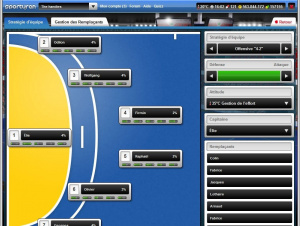 Managez votre équipe de hand sur le web