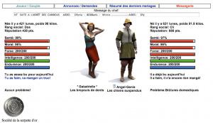 Faites traverser l'histoire à un humain virtuel
