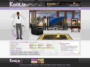 Kooliz, une nouvelle simulation de vie sur le web