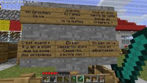Minecraft dans les salles de classe