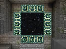 comment construire portail minecraft