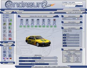 Des nouveautés pour Ondarun 2, le jeu de gestion automobile