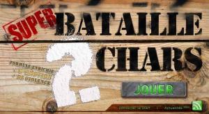 Super Bataille 2 Chars sur Web