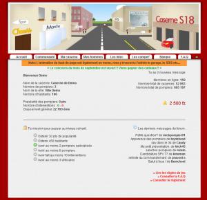 Gérez une caserne de pompiers avec Secteur 18