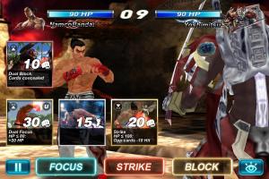 Un jeu de cartes Tekken