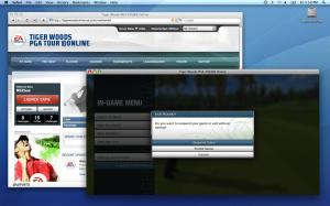 E3 2009 : Tiger Woods se la joue Online