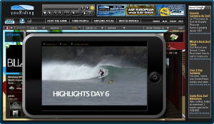 La glisse surfe sur le net