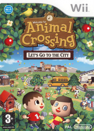 Animal Crossing : Let's Go to the City sur Wii