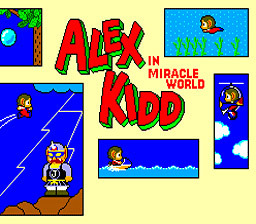 Alex Kidd in Miracle World sur Wii
