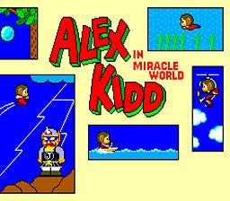 Alex Kidd in Miracle World sur Wii