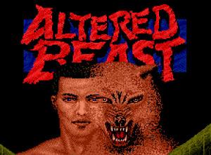 Altered Beast sur Wii