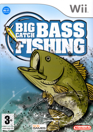 Big catch bass fishing sur wii for Ps4 bass fishing games