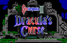 Castlevania III : Dracula's Curse sur Wii