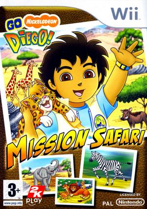 Go Diego ! Mission Safari sur Wii
