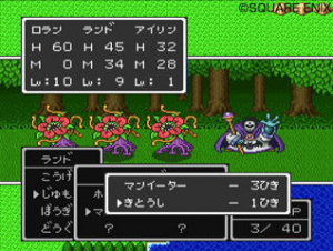 Dragon Quest I-II-III sur Wii