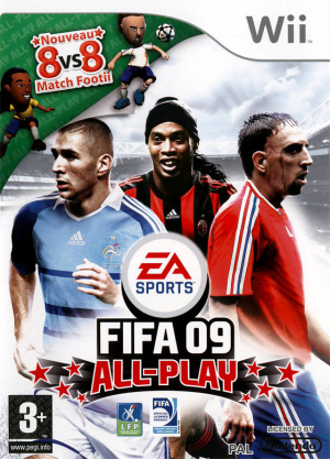FIFA 09 All-Play sur Wii