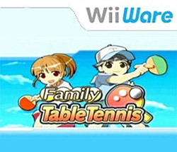 Family Table Tennis sur Wii