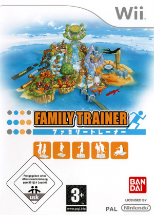 Family Trainer sur Wii
