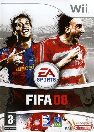 FIFA 08 sur Wii