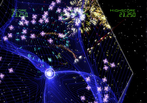 E3 2007 : Images Geometry Wars Galaxies