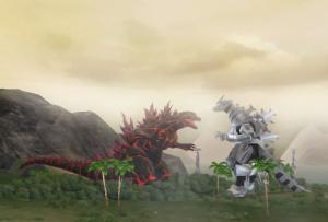 Images : Godzilla Unleashed sur Wii