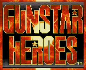 Gunstar Heroes sur Wii