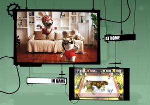 GC 2008 : Images de The Lapins Cretins Show