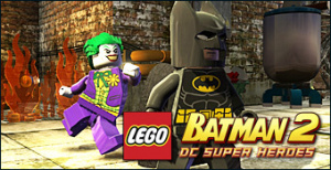 Jaquette de LEGO Batman 2 : DC Super Heroes sur Wii