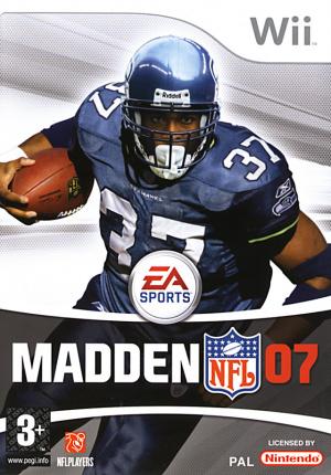Madden NFL 07 sur Wii