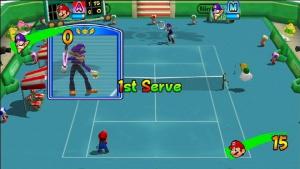 Images de Mario Power Tennis sur Wii