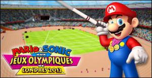 Jaquette de Mario & Sonic aux Jeux Olympiques de Londres 2012 sur Wii
