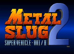 Metal Slug 2 sur Wii