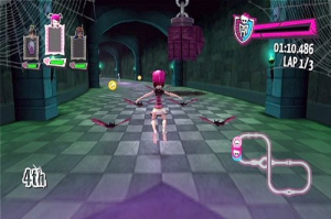 Images de monster high course de rollers incroyablement - Jeux monster high roller ...