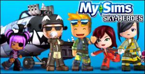 Jaquette de MySims SkyHeroes - TGS 2010 sur Wii