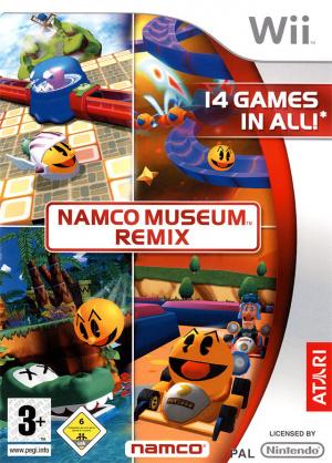 Namco Museum Remix sur Wii