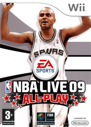 NBA Live 09 All-Play sur Wii