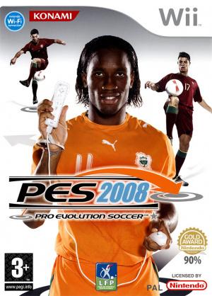 Pro Evolution Soccer 2008 sur Wii