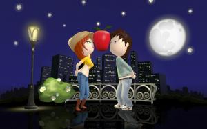 Images de Petits Flirts Entre Amis