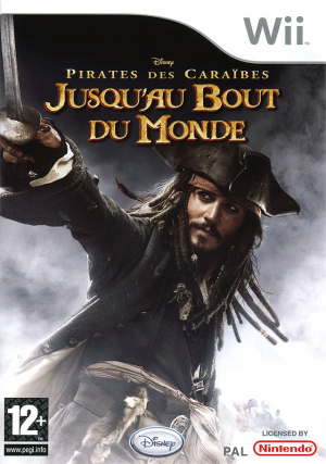 Pirates des Caraïbes : Jusqu'au Bout du Monde sur Wii
