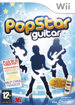 PopStar Guitar sur Wii