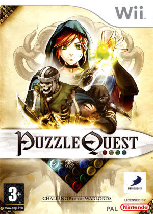 Puzzle Quest : Challenge of the Warlords sur Wii