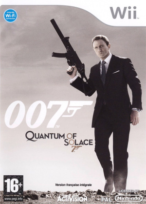 007 : Quantum of Solace sur Wii